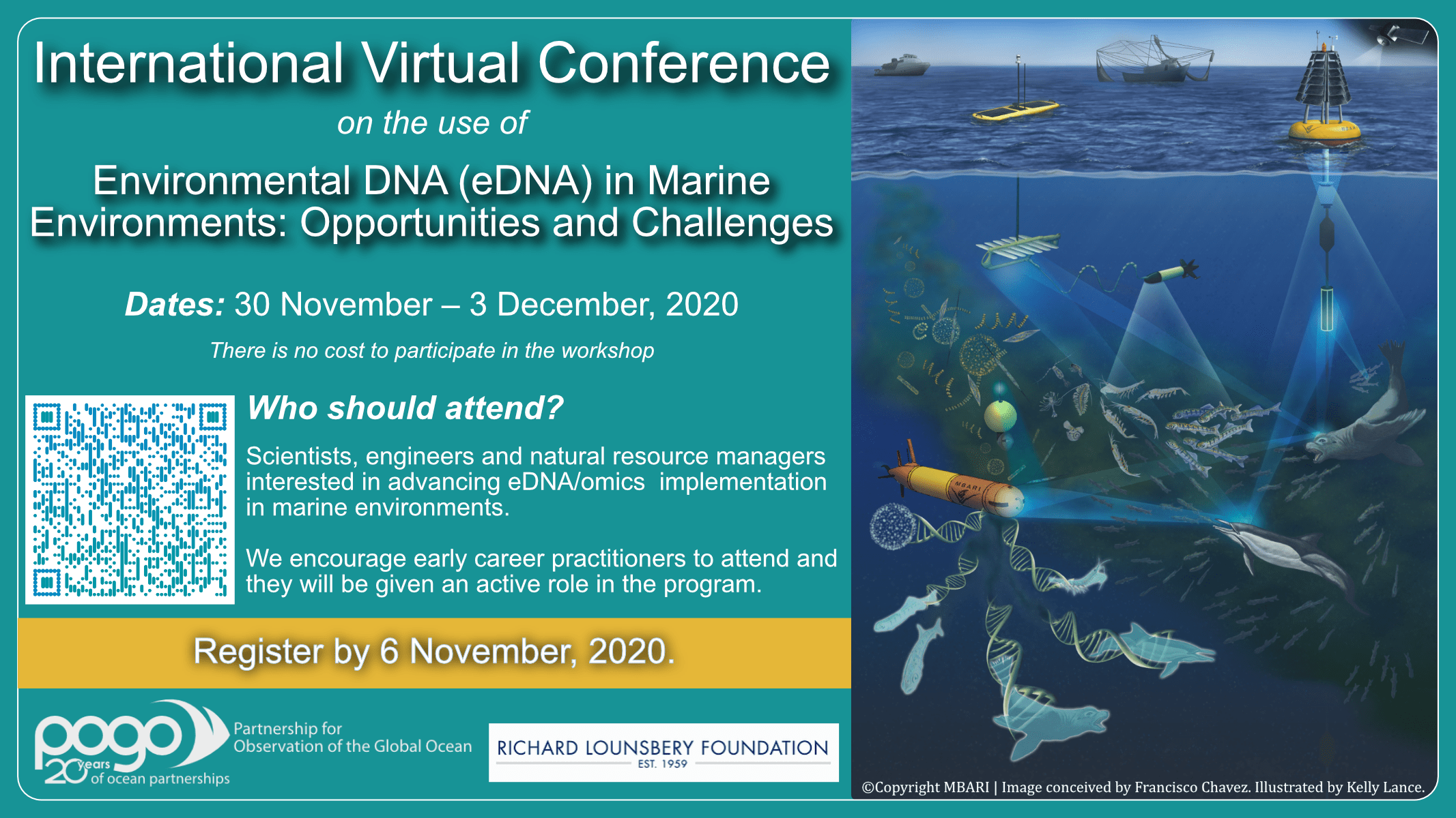 International Virtual Conference on the use of Environmental DNA (eDNA) in Marine Environments: Opportunities and Challenges