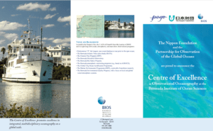 NF-POGO Centre of Excellence established at Bermuda Institute of Ocean Science (BIOS)